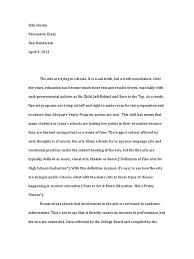 persuasive essay secondary school sat