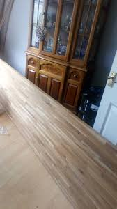 2 solid wood worktops 3m and 4m long