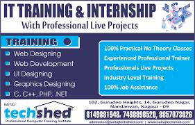 Web Designer Jobs In Nagpur Web Development Training Internship For Fresher In