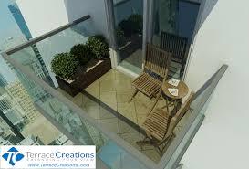 balcony design furniture. Algonquin Granite Interlock \u2013 Small Condo Balcony Design Furniture I
