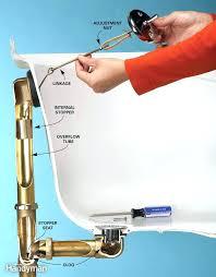 how to repair bathtub drain shower drain assemblies how to fix bathtub drain stopper bathtub drain