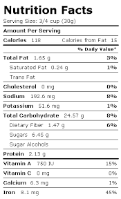 nutrients in honey nutrition facts label for post honey bunches of oats honey roasted alimentos