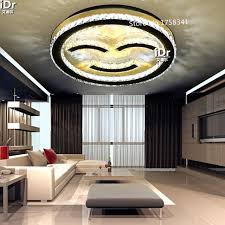 led lighting living room. creative personality led ceiling light happy smiling face restaurant lights living room bedroom crystal lamp led lighting