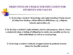 importance of moral values education in schools moral values  moral education in the life of the school ascd