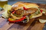 chicago style sausage and peppers