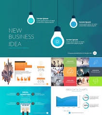 Powerpoint Presentation Templates For Business 004 Square Business Ppt Presentation Template Powerpoint