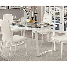 Image Surya Xoxo Image Unavailable Amazoncom Amazoncom Furniture Of America Ambre Extendable Glass Top Dining