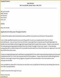Teaching Position Cover Letter Uk cover letter for primary school