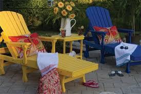 lounge patio furniture folding lounge chair cool yellow