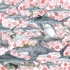smlf hunters cat and shark shower curtain shark week shower curtain target bathroom ideas shark shower curtain