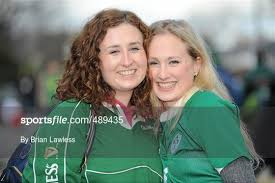Sportsfile - Supporters at Ireland v France - Six Nations Rugby ...