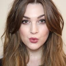 Middle Split Hair Style alix coburn icovetthee makeup glam pinterest face shapes 5408 by stevesalt.us