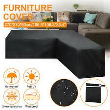 waterproof l shape corner outdoor sofa