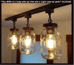 mason jar track lighting. Mason Jar TRACK LIGHTING New Quarts Trio - The Lamp Goods Track Lighting .