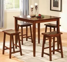bar table and chairs. 5pc Dark Walnut Pub Dining Set Bar Table And Chairs P