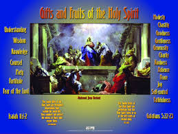 fruits and gifts of the holy spirit