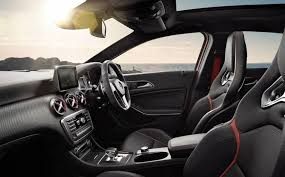 car interior with leather seats
