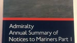 Chart Folio System Of The Ship Annual Summary Of Notices To Mariners What Is Np247 1