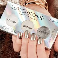 Catrice Sada 3 Pudrových Pigmentů Na Nehty Nail Powder Kit Luxchrome 01 Effect Overlaod 3x1g
