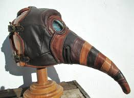 steampunk leather pe mask