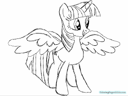 My Little Pony Twilight Sparkle And Flash Sentry Coloring Pages