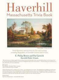 Haverhill Massachusetts Trivia Book Pageperfect Nook Book Paperback