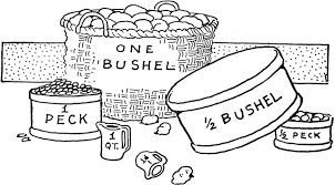 How Many Pecks Make A Bushel Clipart Images Gallery For Free