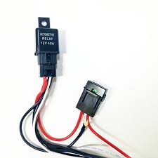fuse wire harness on wiring diagram universal light bar 12v wire harness kit 40 amp relay 30 amp piece of wire
