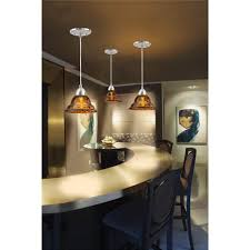 Copper Pendant Lights Kitchen Lighting Beautiful Rectangle Glass In Vertical Design Kitchen