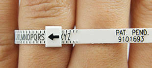 Free Ring Sizer Measure Ring Size Accurately Orlajames Com
