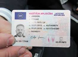 - Latvia Documents Best License Driver's Novelty