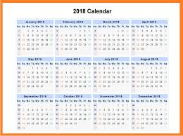 12 Month Calendar Template 2018 Latest Calendar