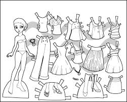It's a fun set that would be great for use with paint! Coloring Pages Clothes Download Or Print Online For Kids