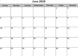 printable calendar 2018 word printable calendar june 2018 free template daily calendar 2018