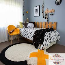 Monochrome Bedroom Design Isaacs Black And White Wilderness Bedroom Design Happy As Larry