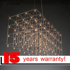 large lighting fixtures. LOFAHS Modern LED Chandelier Luxury Large Combination Cube For Living Room Led-lamp Hanging Lighting Fixtures A