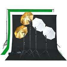 full image for photo studio lighting photography backdrop stand 3 muslin light kit background for beginners