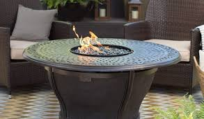 agio fire pit inspirational red ember by agio charleston 48 in round fire pit table with free cover fire pits at hayneedle
