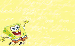 Color Cute Spongebob Ppt Background Pictures_best Powerpoint