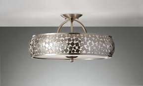 ceiling lights extraordinary drum shade semi flush ceiling light for flush ceiling fan with light