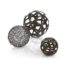 Decorative Metal Balls Shop Geo Decorative Metal Balls Pentagons Triangles And Squares 8