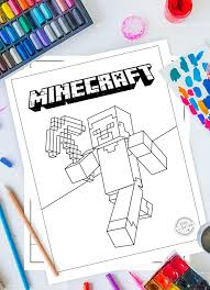 These coloring sheets will allow you to express your creativity to the fullest. Fun And Adventurous Free Minecraft Coloring Pages For Kids