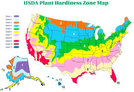 climate plant growing usda zone
