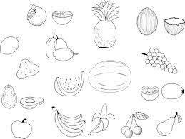 Coloriage De Fruit A Imprimer L L L L L L L L L L