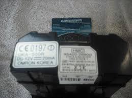 hyundai santa fe interior fuse box body control module 95400 26500 a hyundai santa fe interior fuse box body control module 95400 26500 etacs receiver oka etacs 1