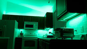 Above Cabinet Lighting Ideas How To Install Above Cabinet And Under Cabinet Led Lighting Using Color Changing Strips