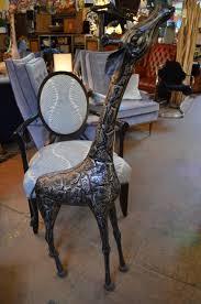 Sculpted Stainless Steel Giraffe