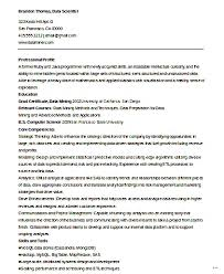Data Scientist Resume Sample Example Examples Word Science Fine