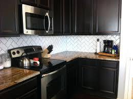 subway tile backsplash with dark cabinets interior kitchen contemporary  ideas with dark contemporary ideas with dark