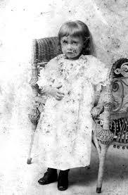 Florida Memory • Genevieve Smith as a child.